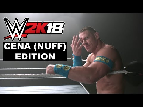 WWE 2K18 Cena (Nuff) Edition Reveal Trailer thumbnail