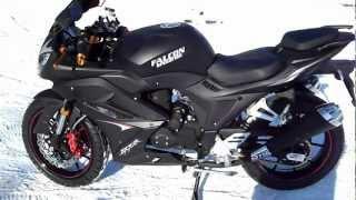 Смотреть онлайн Обзор мотоцикла Фалькон 250 кубов