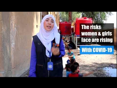 UNFPA delivers lifesaving supplies in AL Hassake
