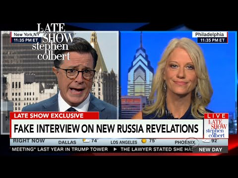 Kellyanne Conway Gives It To Stephen Straight (As In, Straight Up BS)