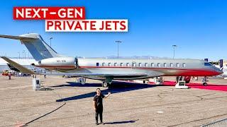 Inside 5 Next-Gen Luxury Private Jets – Global 7500, Falcon 10X, VisionJet, HondaJet