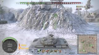 WOT PS4 объект 140 - лучший средний танк 10 уровня
