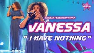 Vanessa buktikan diri bintang antarabangsa dengan 'I Have Nothing' Whitney Houston | Ceria Megastar