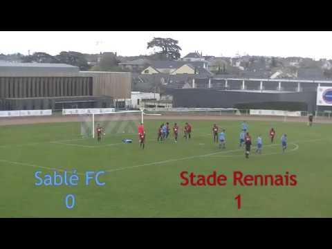 U17 Sablé FC - Stade Rennais 17 mars 2019