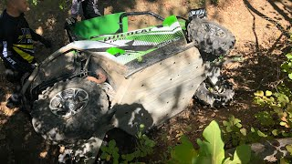 ARTIC CAT WILD CAT 700 Trail CRASH!!