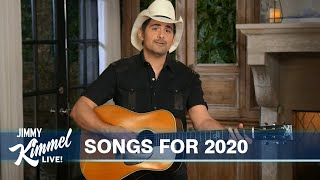Brad Paisley's Guest Host Monologue on Jimmy Kimmel Live