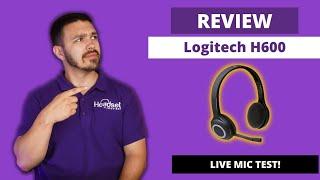 Logitech H600 Wireless Headset In-Depth Review - LIVE MIC TEST!