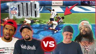 Crap Talk Gets HEATED!! 2v2 Wiggle Stix Challenge! (NFL Tour)
