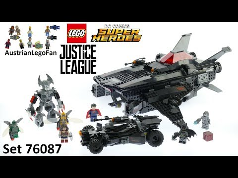 Vidéo LEGO DC Comics Super Heroes 76087 : Flying Fox : l'attaque aérienne de la Batmobile