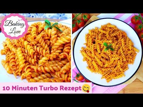 Leckere Nudeln mit Tomatenmark I Turborezept I in 10 Minuten fertig I salcali Makarna