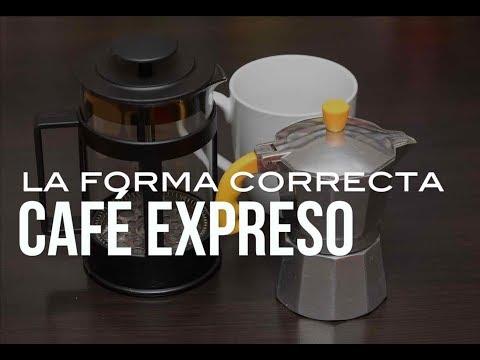 Cómo preparar café americano y café express
