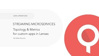 Streaming Microservices with Kafka and Lenses
