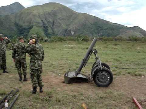 DISPARO MORTERO 120 mm
