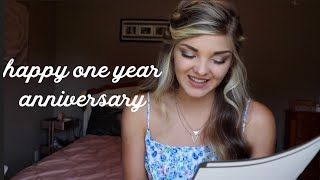 Happy One Year Anniversary // A Letter for You