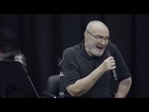 Phil Collins - Something Happened on the Way to Heaven [Not Dead Yet Tour rehearsal] 2017