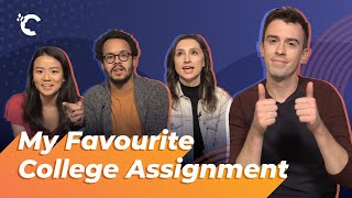 youtube video thumbnail - My Favourite College Assignment (from UCLA and Harvard)