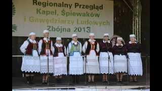 preview picture of video 'Kobiecy Zespół Śpiewaczy ze Zbójnej - Przegląd Kapel Śpiewaków i Gawędziarzy Ludowych 2013'