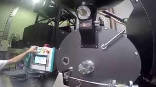 Máy rang cà phê imf công nghiệp