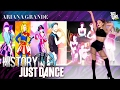 Just Dance   Ariana Grande   JD2014 - JD2017   History in Just Dance
