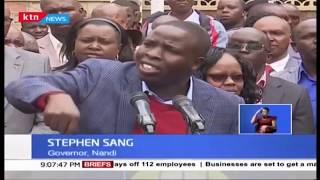 Police hold Nandi Governor Sang in Kisumu over destruction of tea bushes