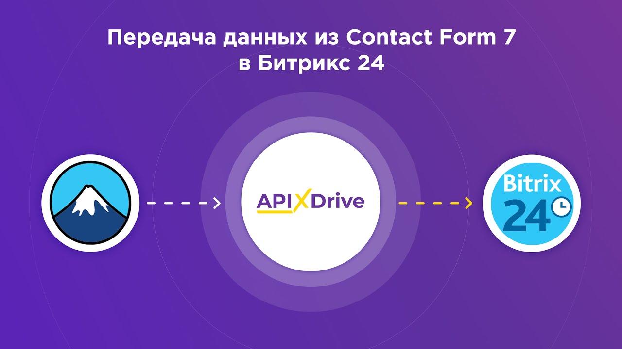 Как настроить выгрузку данных из ContactForm7 в виде лидов в Bitrix24?