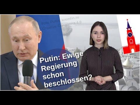Putins ewige Regierung – schon beschlossen? [Video]