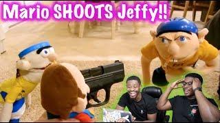 JEFFY VS MARIO! | SML Movie: Jeffy Sneaks Out Reaction!