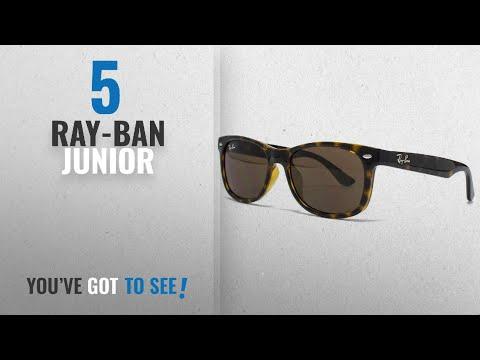 Top 10 Ray-Ban Junior [2018]: Ray-Ban Junior Sonnenbrille (RJ9052S)