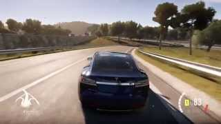 Forza Horizon 2 - Tesla Model S Test Drive