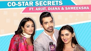 Arjit Taneja, Diana Khan & Sameeksha Jaiswal's Co-Star Secrets | Bahu Begum