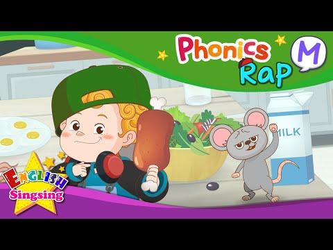 English Rap - Educational video for Kids