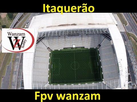 Drone Sobrevoando a Arena Corinthians o Itaquerão