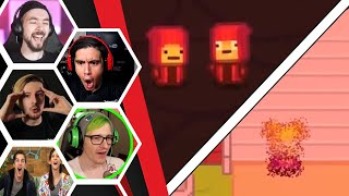 Let's Players Reaction To The First Time Nugget Snaps His Fingers | Kindergarten 2