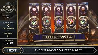 Excel's Angels vs Free Marsy | MDI All-Stars | The Underrot