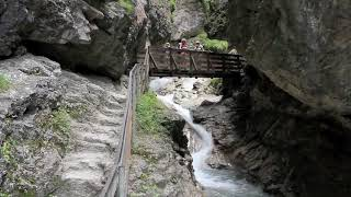 Walking the Rosengartenschlucht, Imst, Tirol, Austria