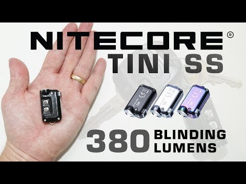 Nitecore TINI SS - It destroys the TIP & TUBE!!!
