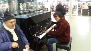 THANK GOD FOR JOE - THE OLD RUGGED CROSS PIANO