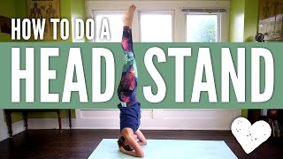 How To Do a Headstand for Beginners by Yoga With Adriene