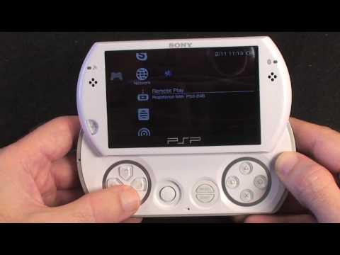 Sony PSP Go Review - White UK Version