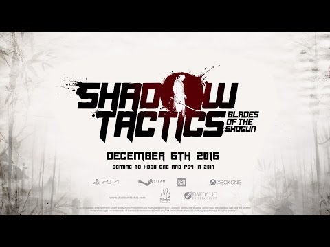 Shadow Tactics: Blades of the Shogun - Release Date Trailer thumbnail