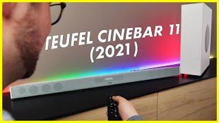 Teufel CINEBAR 11 (2021) und neuer T6 Subwoofer zum alten Preis!   CH3 Review Test Deutsch