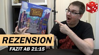 Rezension: Tiny Towns (Peter McPherson, AEG / Pegasus 2019)