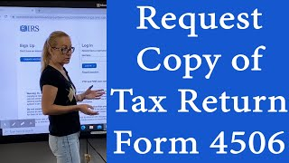 How to get a copy of your taxes from IRS online - Request online transcript of your tax return. EIDL