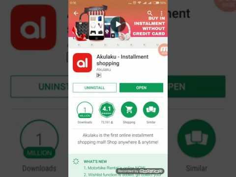 Video Cara daftar akulaku karyawan iss indonesia
