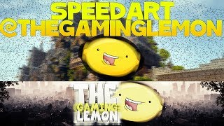 Speed Art - @TheGamingLemon - Youtube Banner