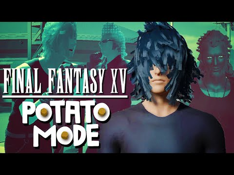 Any FFXV player knowing the best settings for the game for a