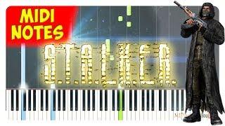 STALKER - Cheeki Breeki Piano Tutorial (Piano Sheets + midi)