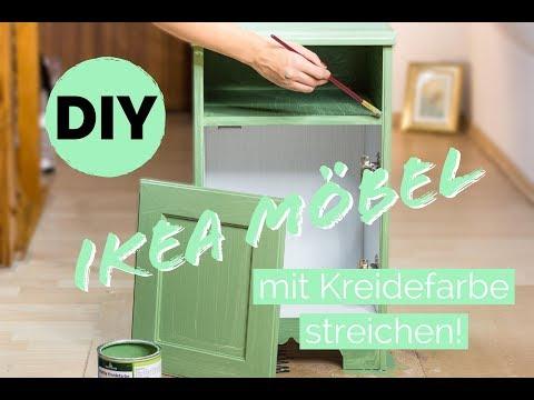 Ikea Hack! Ikea Möbel umgestalten * Kommode aufpeppen * Möbel streichen