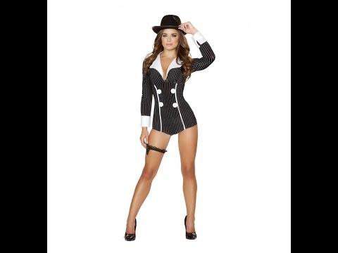 Roma Gangster Kostüm Overall Missy Gina I 4504