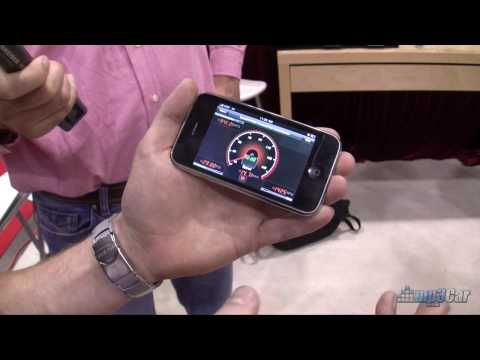 Rev Iphone App for Automotive Diagnostics – SEMA 2009